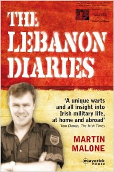 The Lebanon Diaries. book, Martin Malone