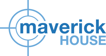 Maverick-House-Logo-Blue-Outlined