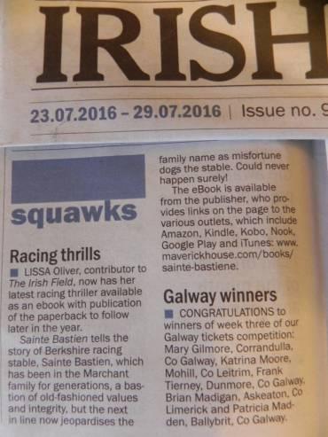 Irish Field Review
