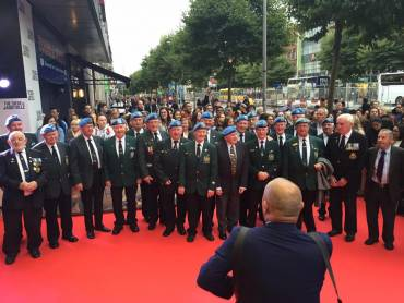 Veterans at the Premiere of Jadotville