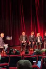Live Q&A after 'Jadotville' Screening with [L-R] screenwriter Kevin Brodbin, actor Jamie Dornan, director Richie Smyth and producer Alan Moloney.
